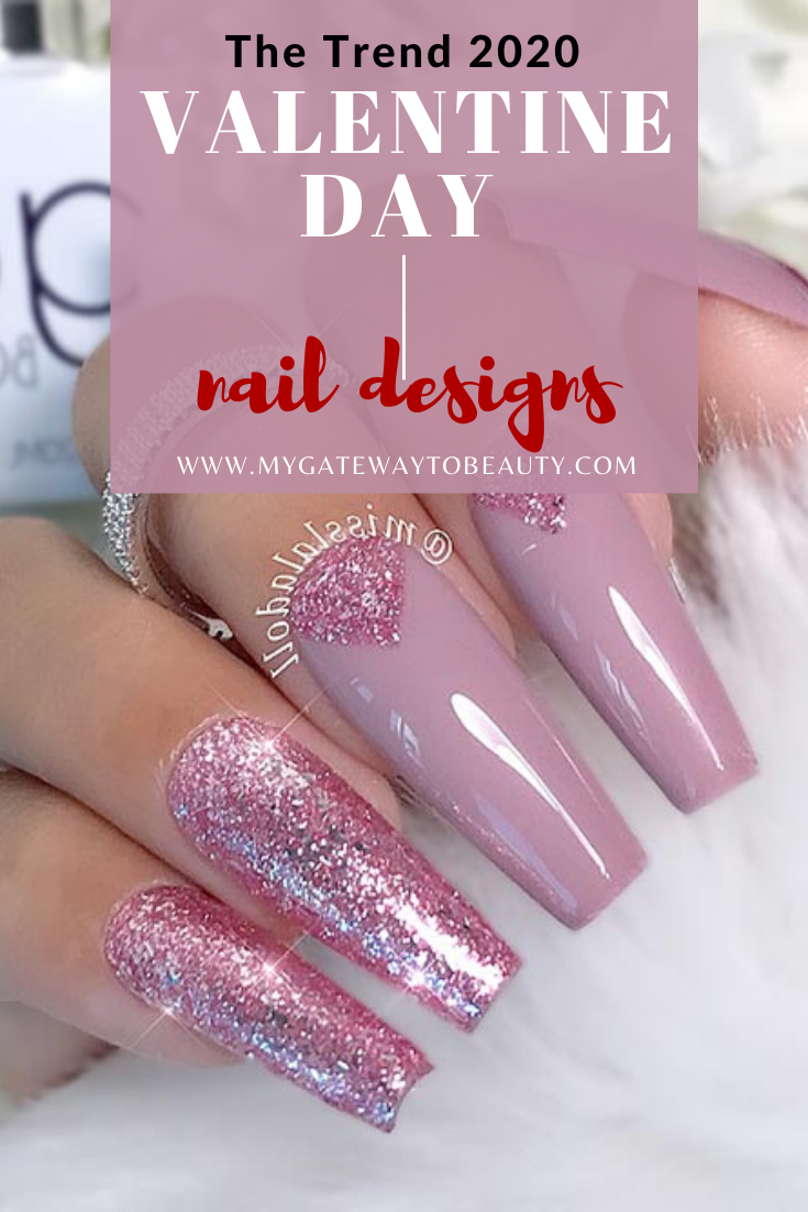 TOP 20 VALENTINE DAY NAILS TRENDING IN 2020
